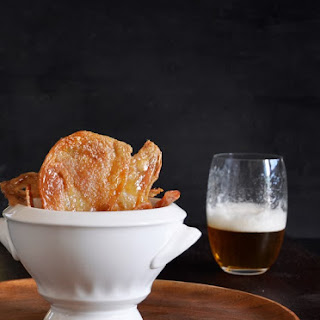 Crispy Chicken Cracklings, Beer and the Joy of Indian Summer Recipe