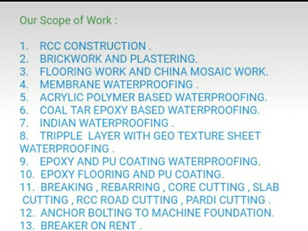 JEEL CONSTRUCTION company , building Contractor in Ahmedabad