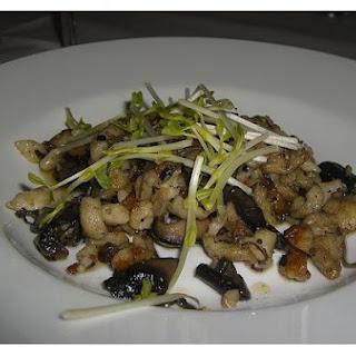 Alpine Mushroom Salad