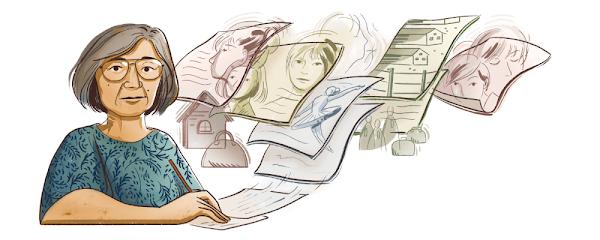 Google Doodle celebra a la autora japonés-estadounidense Hisaye Yamamoto