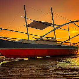 palawan by Abu  Janjalani Abdullah - Transportation Boats ( boats, transportation )