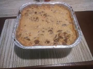 Brown Sugar Pound Cake Bread Pudding