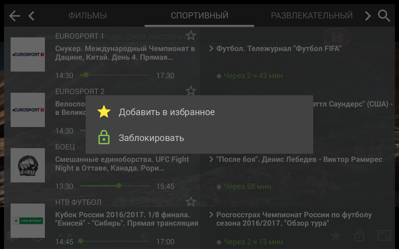 Maximum-Net IPTV – скриншот
