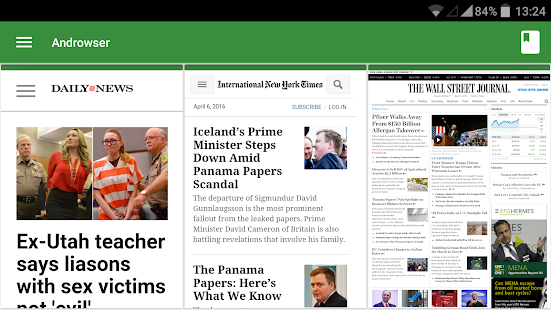 Androwser: Multiview Browser- screenshot thumbnail
