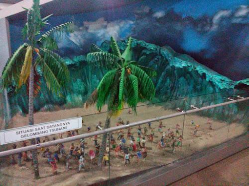 Diorama Tsunami