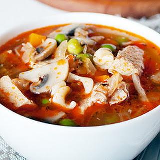 Pork Vegetable Soup.