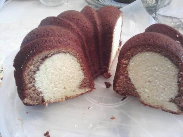 Chocolate Marble Poundcake