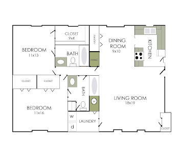 Go to The Windsor Floorplan page.