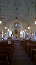 Photo: Interior Immaculate Conception Catholic Church Panna Maria