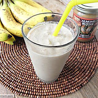 Banana Almond Chia Dairy Free Smoothie
