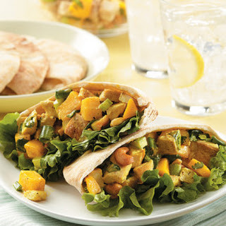 Curried Chicken Salad with Mango & Cashews.