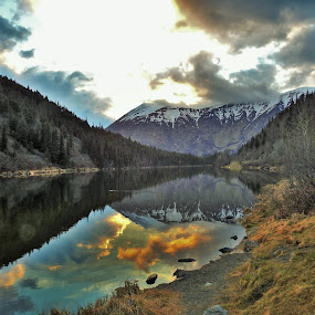 Let's Reflect by Patricia Phillips - Landscapes Travel ( lakes reflections alaska )