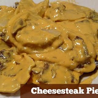 Quick And Easy Cheesesteak Pierogies #Recipe.