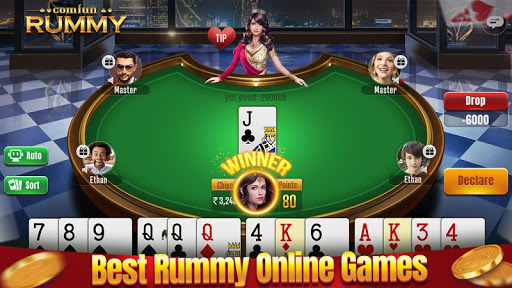 Indian Rummy Comfun-13 Card Rummy Game Online apkpoly screenshots 1