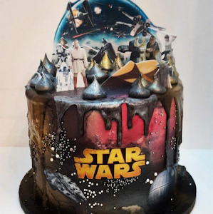 Star Wars Cake By Lilli Oliver