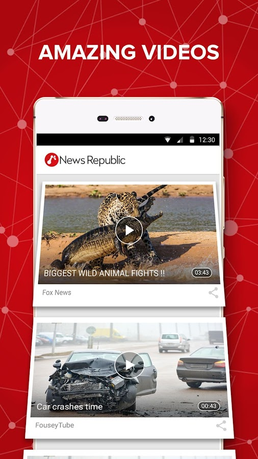 News Republic – Breaking news- screenshot