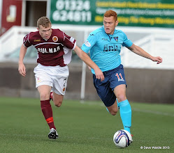 Photo: Stenhousemuir fc v Dunfermline fc, Scottish League 1, Ochilview , 24-08-13Ryan Thomson and Nicky Devlin(c) David Wardle