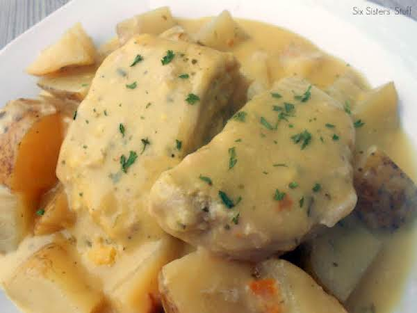 Slow Cooker Creamy Ranch Pork Chops And Potatoes Recipe