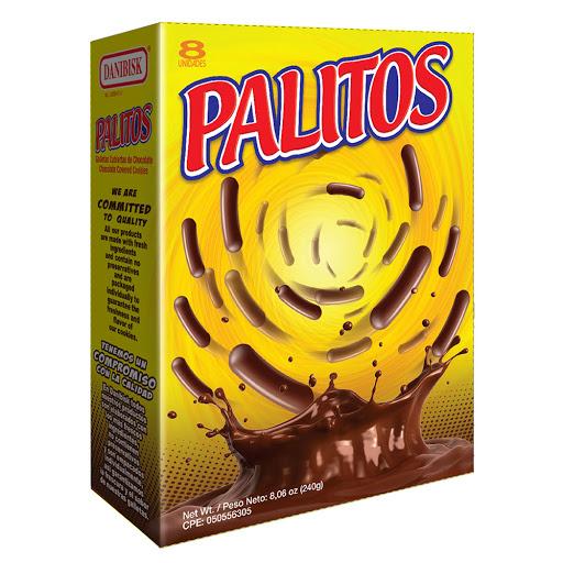 galletas danibisk palitos chocolate 240gr