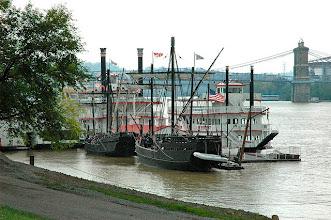 Photo: Nina and the Pinta at Newport on the leve