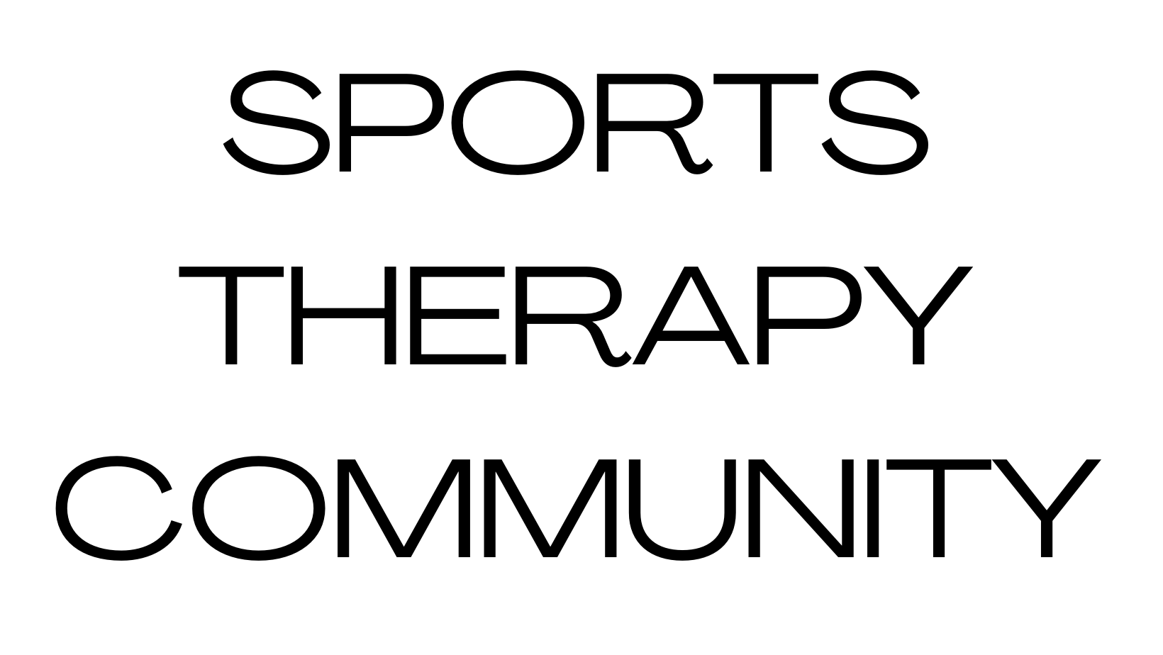 sports therapy community