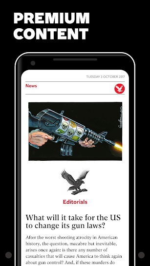The Independent Daily Edition screenshot for Android