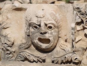 Photo: Myra - zdobienia rzymskiego amfiteatru