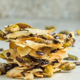 4 Ingredient Coconut Pistachio Clusters Recipe