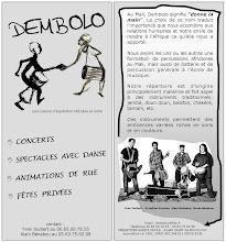 Photo: Dembolo plaquette resto verso, 2008