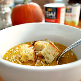 Pumpkin Coconut Soup.