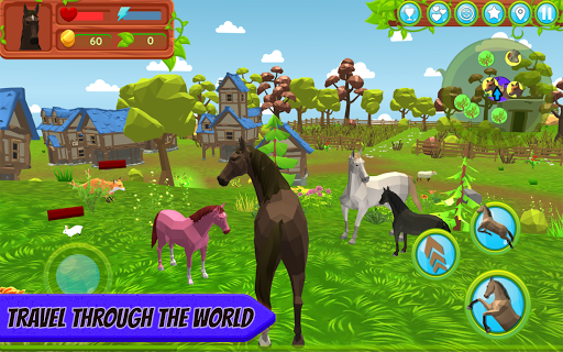 Horse Family u2013 Animal Simulator 3D apkmr screenshots 1