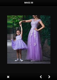 Mother & Daughter Outfit Dress Ideas - náhled