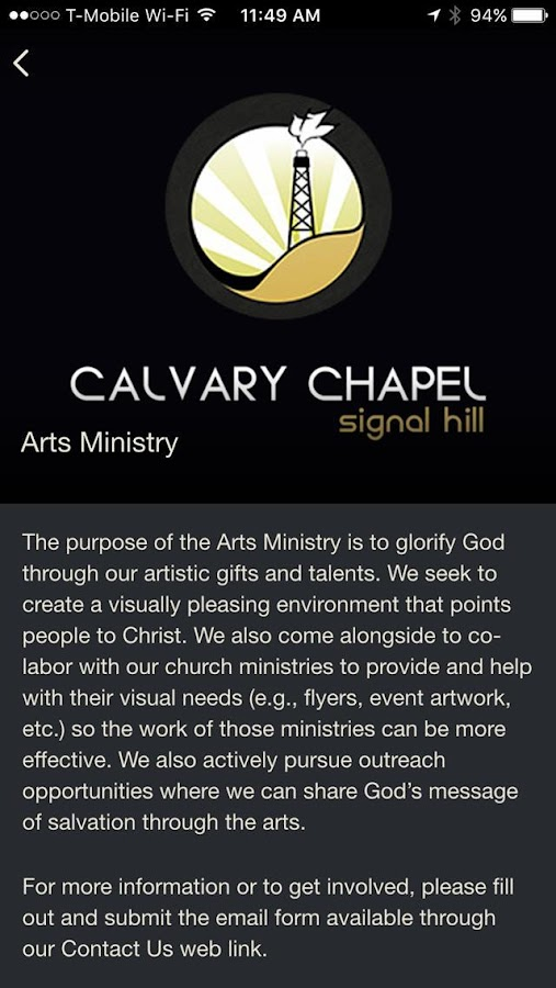 Calvary Chapel Signal Hill- screenshot