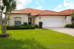 Orlando villa close to Disney, gated community with facilities, southwest-facing pool and spa