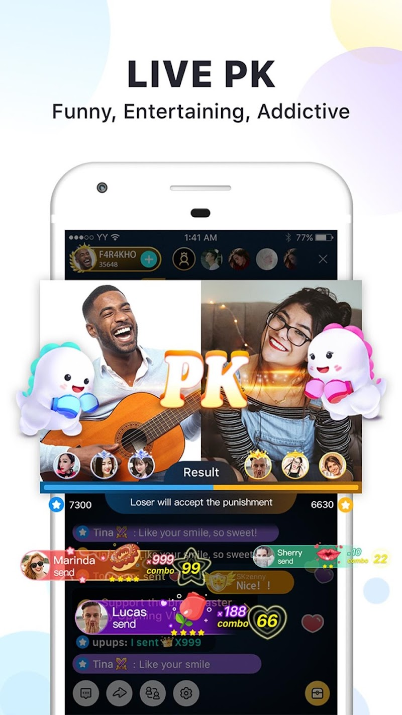Bigo Live  - Live Stream, Live Video & Live Chat Screenshot 4