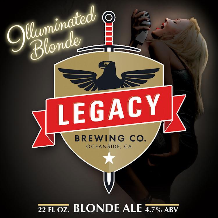 Logo of The Illuminated Blonde