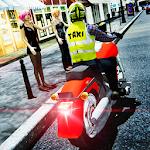 Bike Taxi Driver Icon