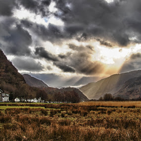 Lake District - Lodore Falls Hotel by Matt Lampey - Landscapes Mountains & Hills
