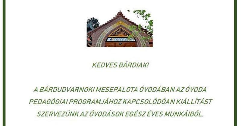 Meghívó - Mesepalota Óvoda - 2019.06.04