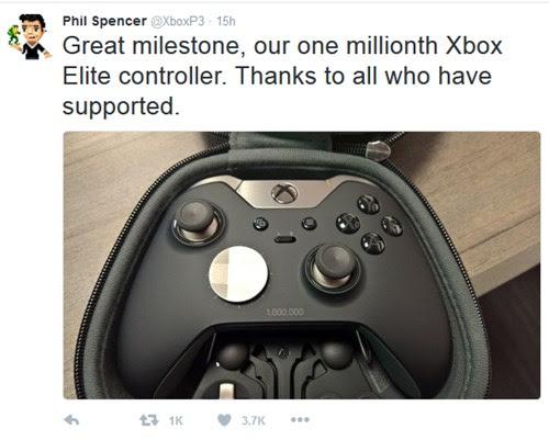 Xbox Elite Wireless Controller chạm mốc 1 triệu sản phẩm