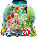 3D Aquarium Japaneses  Koi Fish icon