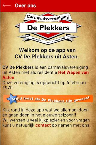 android CV de Plekkers Screenshot 3
