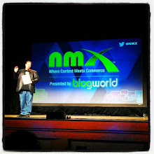 Photo: @newmediaexpo ceo on stage #nmx