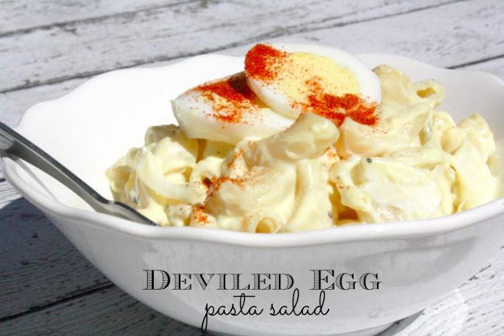 Deviled Egg Pasta Salad Recipe