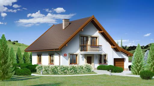 projekt Dom przy Oliwkowej 5