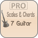 Scales & Chords: 7 Guitar PRO icon