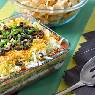 Best 7 Layer Taco Dip and more for Game Day.