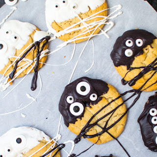 Black And White Monster Cookies.