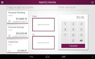 Screenshot of MyNCU Mobile