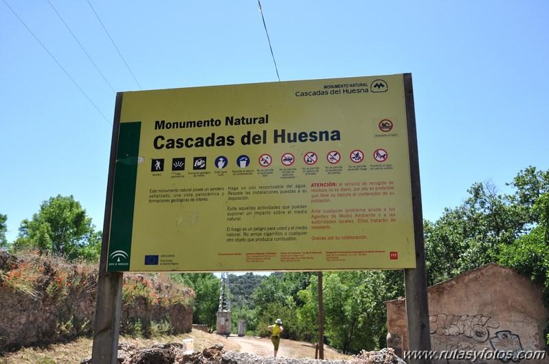 Cascadas del Huéznar o Huesna
